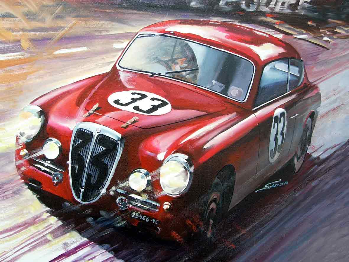 Slot classic noticias we would like to show the first pictures of our next model the cj 28 lancia aurelia b 20 from le mans 1951 if anybody is interested and hasnt made his vanachro Choice Image